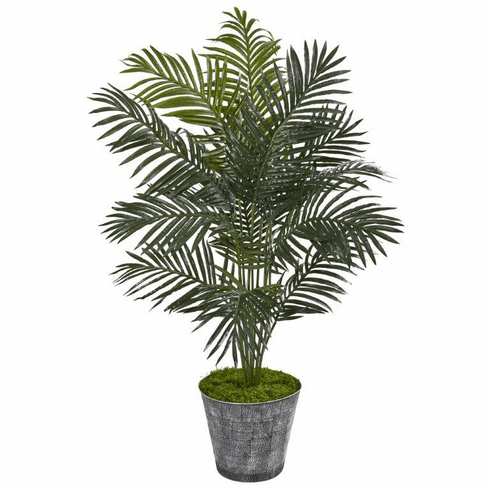"""58"""" Paradise Palm Artificial Tree in Decorative Planter -"""