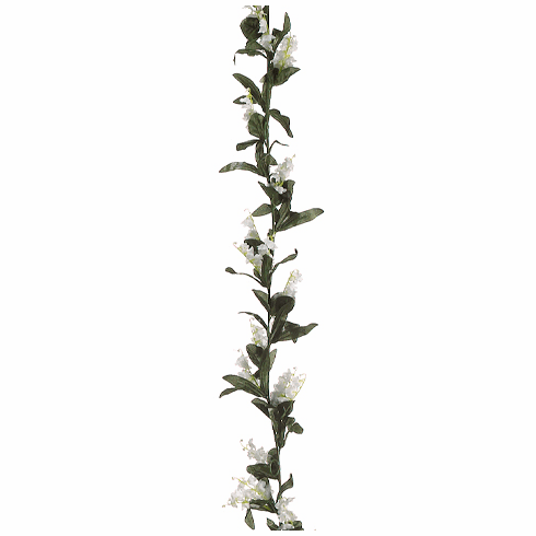 6' Artificial Lily of the Valley Flower Garland - Set of 12