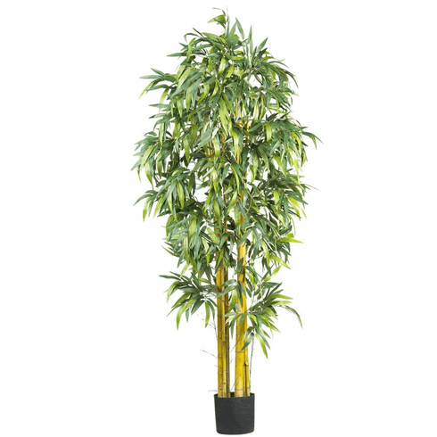 6' Biggy Style Bamboo Silk Tree