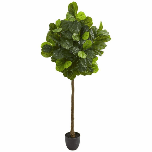6' Fiddle Leaf Artificial Tree (Real Touch)