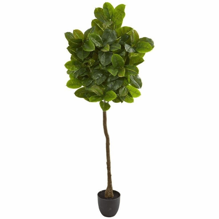 6� Rubber Leaf Artificial Tree (Real Touch)
