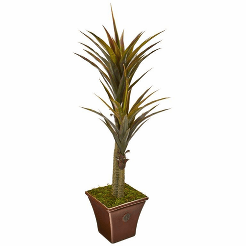 """61"""" Yucca Artificial Tree in Planter"""