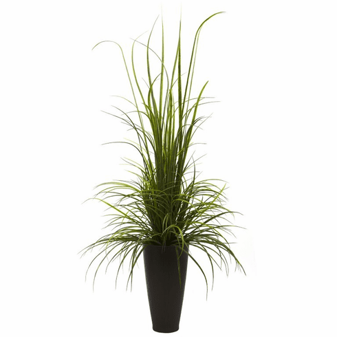 "64"" River Grass in Decorative Planter (Indoor/Outdoor)"