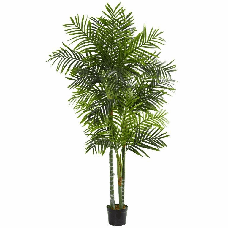 7.5' Areca Artificial Palm Tree