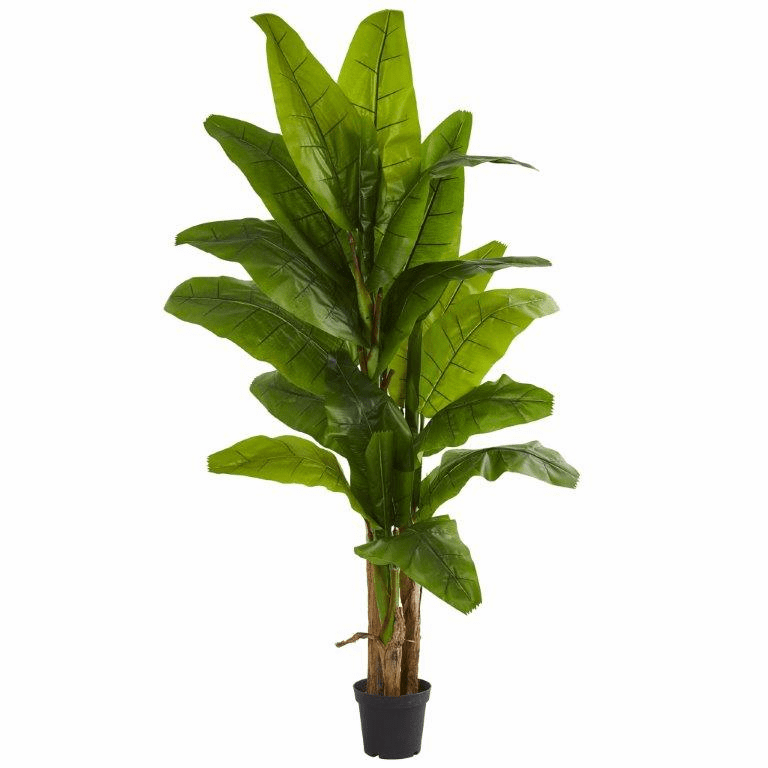 7.5' Banana Artificial Tree