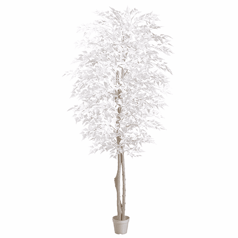 Set of 2 - 7' Artifical White Birch Tree