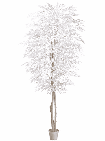 7' Artifical White Birch Tree - Set of 2