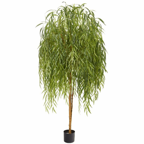 7' Willow Artificial Tree