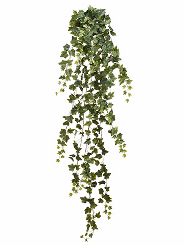 "70"" English Ivy Hanging Artificial Bush with 423 Leaves - Set of 4"