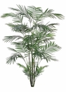 8' Artificial Tropical Areca Palm Tree - Non Potted