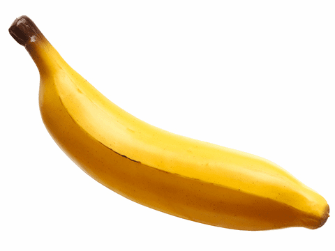 "8"" Soft Plastic Bananas - Set of 36"