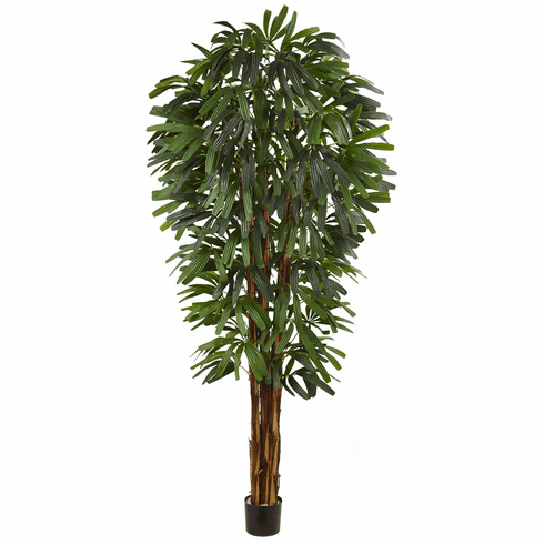 "84"" Raphis Silk Palm Tree"