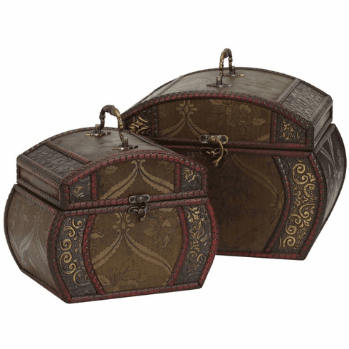 "9""-10"" Decorative Chests - Set 2"