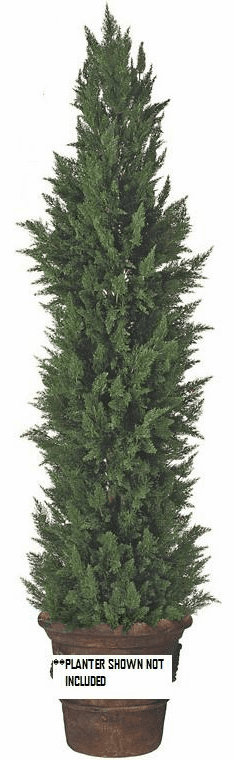 9' Artificial Outdoor Cypress Tree - UV Infused Outdoor