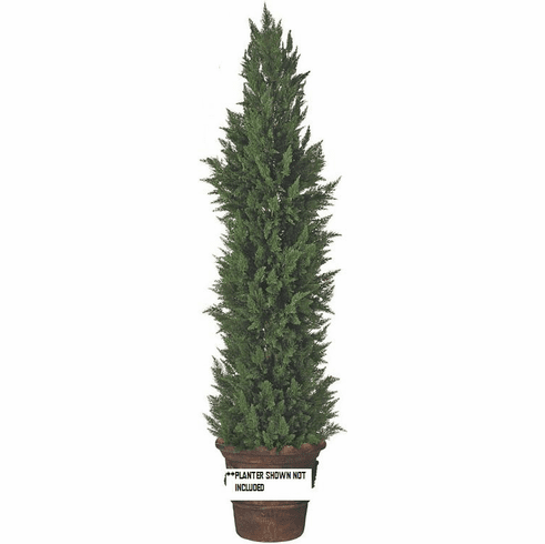 9' Artificial Outdoor Cypress Large Tree - UV Infused Outdoor