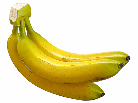 """9"""" Banana Cluster x3 - Set of 6 Bunches"""