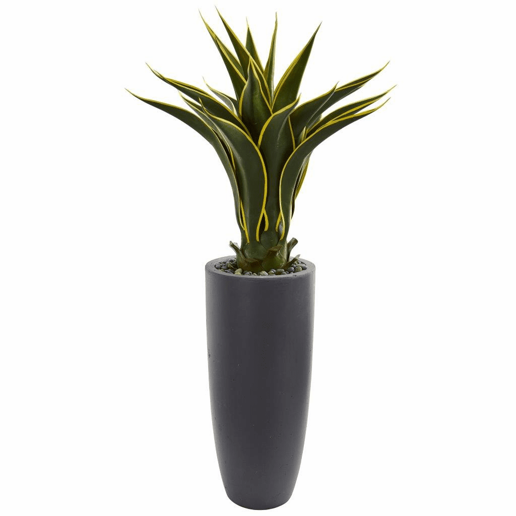 3' Agave Artificial Plant in Bullet Planter