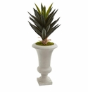 2.5' Agave Artificial Plant in Sand Urn