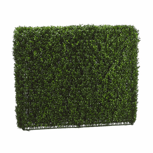 "Artificial Boxwood Hedge - 33"" High x 39"" Length"