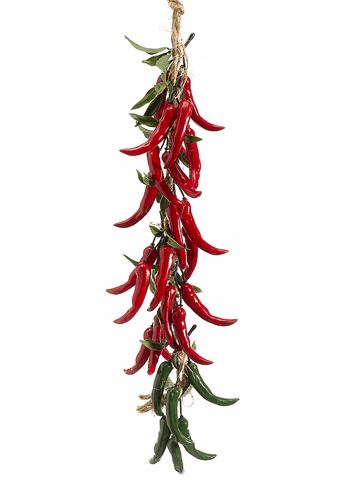 Artificial Chili Peppers