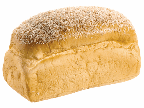 Artificial Light Brown Sesame Seed Bread Loaf - Set of 12