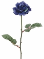 "23"" Artificial medium silk rose stems - Set of 12"