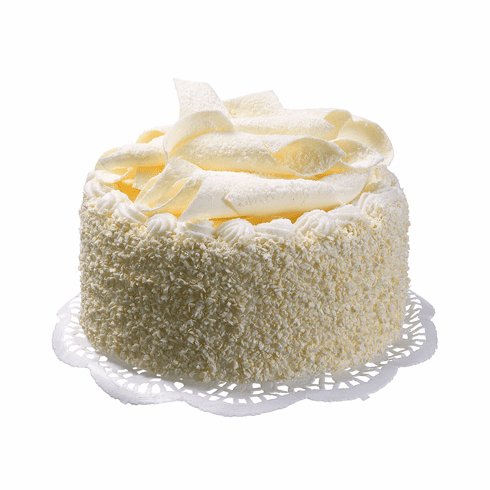Artificial White Chocolate Cake - Set of 6