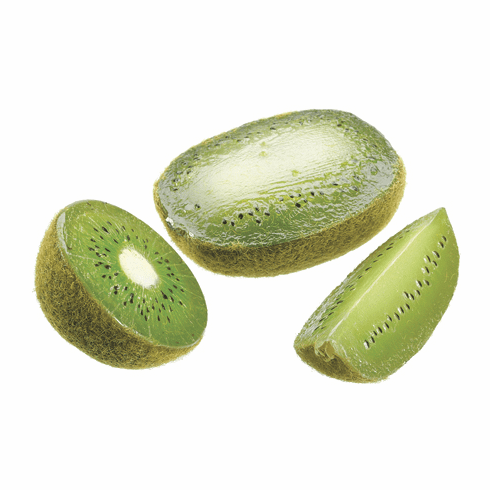 Arttificial Kiwi Fruit Wedges