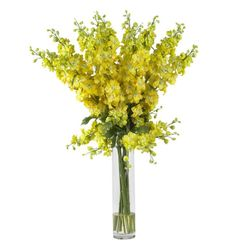 "38"" Tall Delphinium Silk Flower Arrangement"