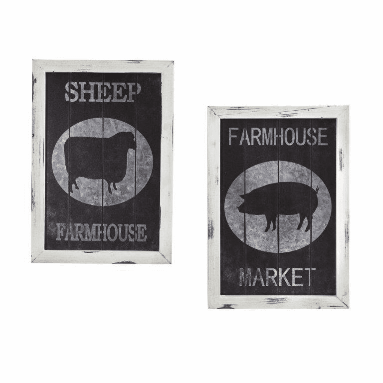 Farm to Table Wall Decor (Set of 2) -