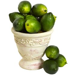 Realistic Artificial Limes (Set of 12)