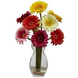 "15"" Gerber Daisy with Vase Arrangement"