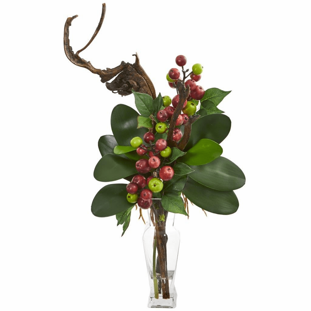 "25"" Mini Apple Artificial Arrangement"