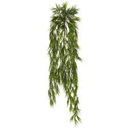 """43"""" Mini Artificial Bamboo Hanging Bush Plant  Non Potted - Set of 2"""