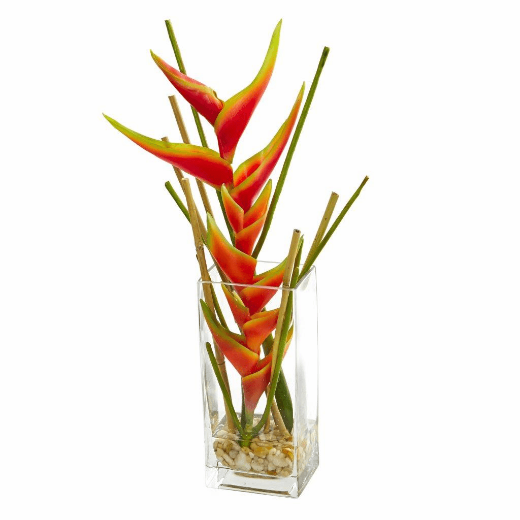 "18"" Mini Heliconia Artificial Arrangement"