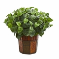"21"" Pothos Artificial Plant in Decorative Planter"