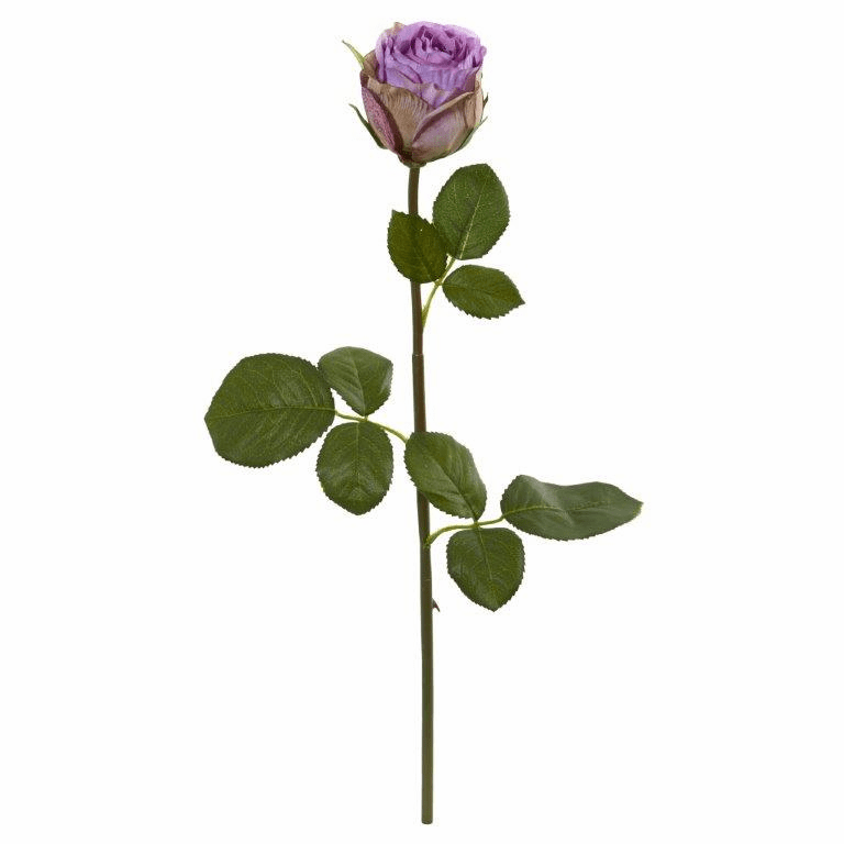 Purple 18� Rose Spray Artificial Flower (Set of 12)