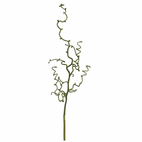 "Set of 12 - 30"" Curly Twig Artificial Branches"