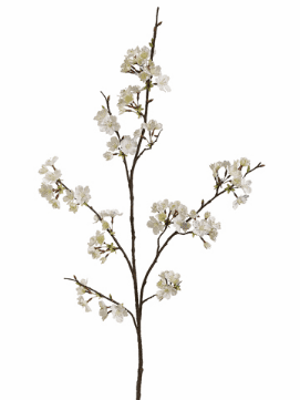 "Set of 12 - 42"" Artificial Silk Cherry Blossom Spray"