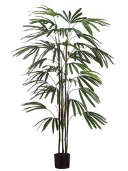 Set of 2 - 5' Artificial Raphis Palms