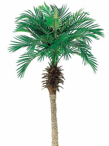 Set of 2 - 5' Silk Phoenix Palm Trees - Non Potted