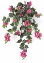 """Set of 4 - 36"""" Artificial Outdoor Bougainvillea Flowers - UV Infused Lavender/Lilac"""