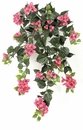 """Set of 4 - 36"""" Outdoor Artificial Bougainvillea Flowers - UV Infused Beauty/Fuchsia"""