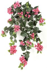 "Set of 4 - 36"" Outdoor Artificial Bougainvillea Flowers - UV Infused Beauty/Fuchsia"