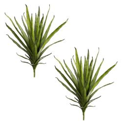 """Set of 4 - 21"""" Artificial Agave Cactus Plants"""