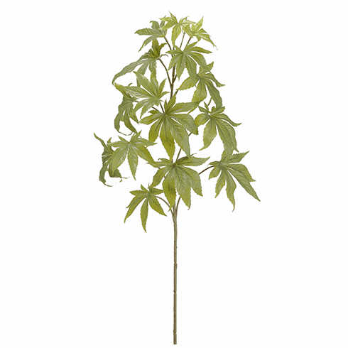 "Set of 6 Silk Marijuana Stems - 39"" Length"