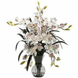 Silk Cymbidium Orchids
