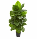 4' Taro Artificial Plant
