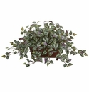 "14"" Wandering Jew Artificial Plant in Decorative Planter"