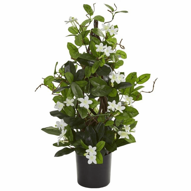 24� White Stephanotis Artificial Climbing Plant
